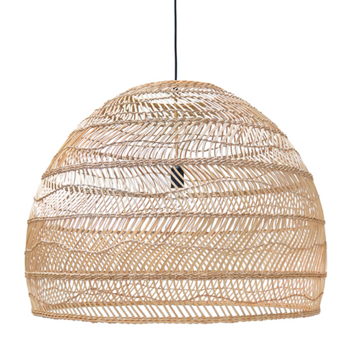 HK_LI3_HANDWOVEN WICKER_ HANGING LAMP_h 60 x DIAM 80cm _ €395