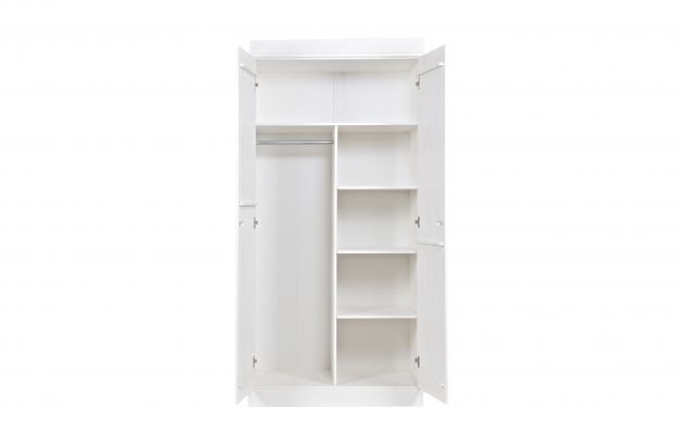 WW_ST8_Connect interior package for 2-doors cabinet_MELAMINE_WHITE_€65