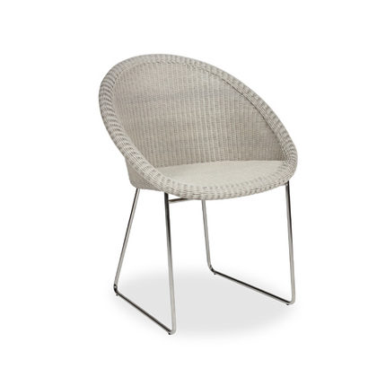 VS_OD3_GIPSY DINING CHAIR_OLD LACE_POLYETHYLENE RESIN_STAINLESS STEEL_82x62x57cm_ € 480