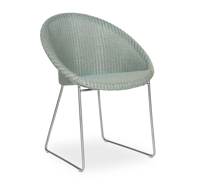 VS_SI5_Joe_82x62x57cm_Aqua_Rattan seat_Matt nickel brushed steel_429€1