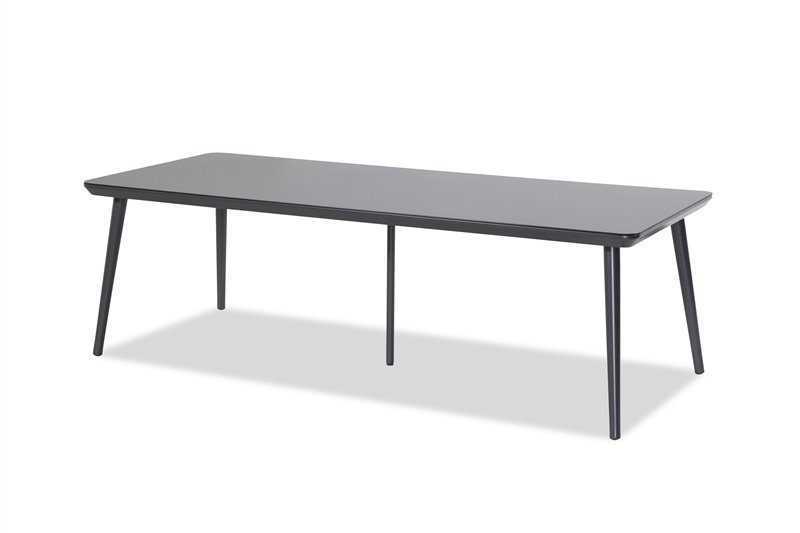 DINING TABLE SOPHIE STUDIO_XERIX_HPL TOP_ALUMINIUM_75x240x100cm
