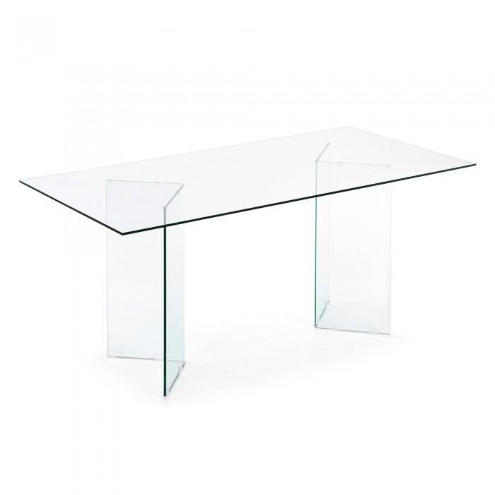 DINING TABLE BURANO_180 x 90_GLASS_78x180x90cm