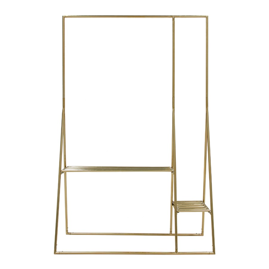 HK_CLOTHING RACK_BRASS_METAL_190x50x125cm_Gallery