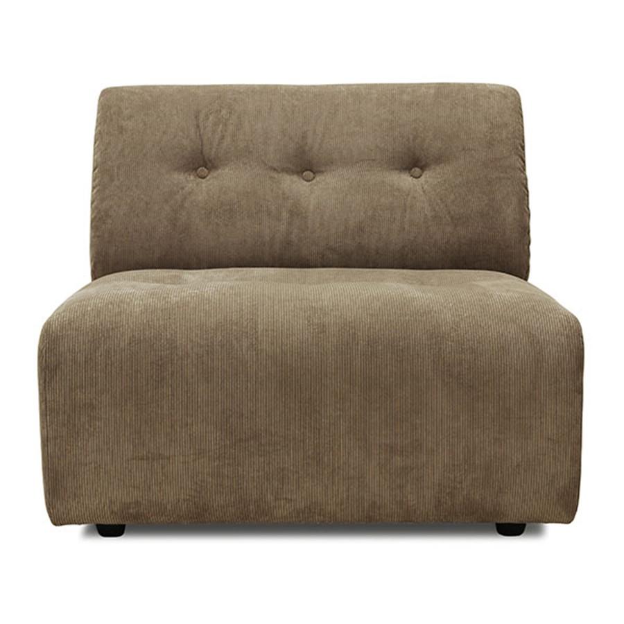 Sofa Vint Couch | Brown | Modular