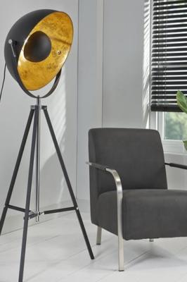 FLOOR LAMP BLACK GOLD_METAL_170x70x70cm