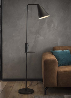 FLOOR LAMP CHARGER_CHARCOAL_METAL_160x45x28cm