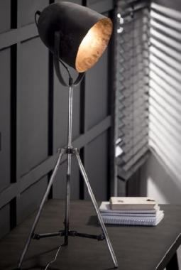 FLOOR LAMP SILVER_METAL_85x38x38cm