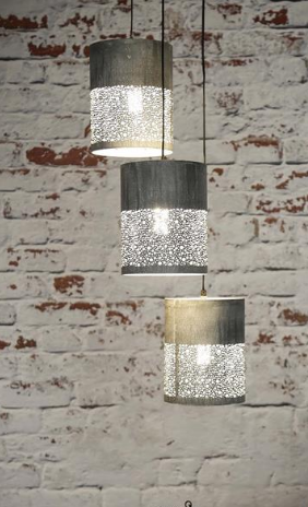 HANGING LAMP STEPS_GREY_METAL_150x35x35cm