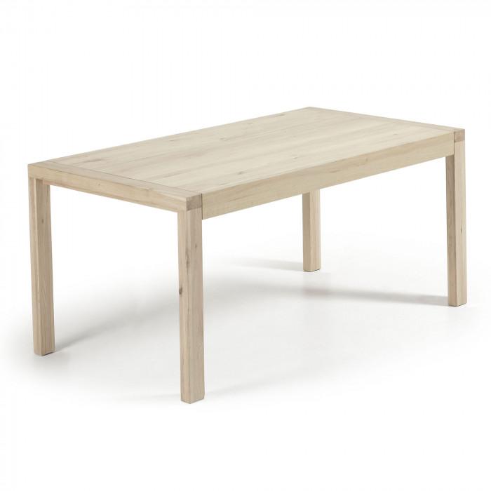 DINING TABLE VIVY BLEACHED EXTENDABLE_OAK_77x180-230x90cm