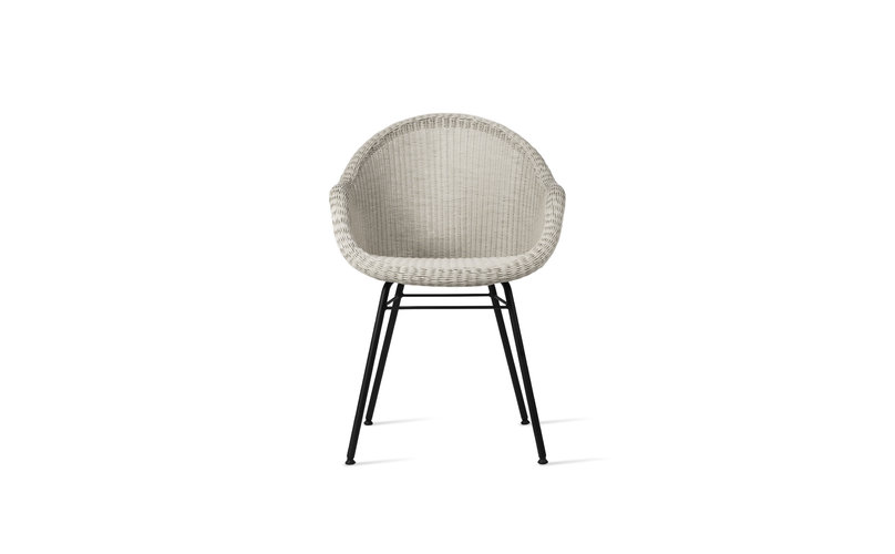 VS edgard dining chair steel a base3