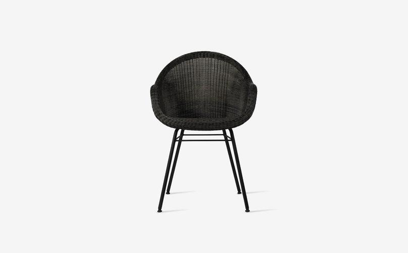 VS edgard dining chair steel a base4