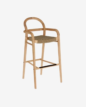 BAR CHAIR SHELBY H110 _100_ BEIGE_EUCALYPTUS_ROPE_110x54x56cm_100x52x54cm