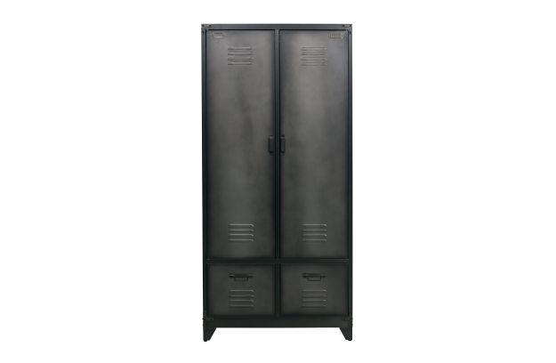 CABINET LOCKER_BLACK_METAL_190x90x50cm